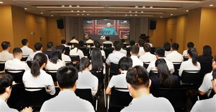河南黑白直播官网网页组织集中收看庆祝中国共产党成立100周年大会盛况直播